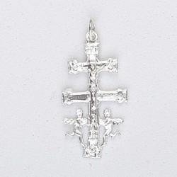 Colgante plata Cruz de Caravaca