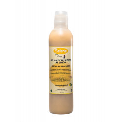 Gel anticelulítico al limón 250ml.