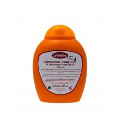 Bronceador-protector té y zanahoria FPS 4- 250ml.