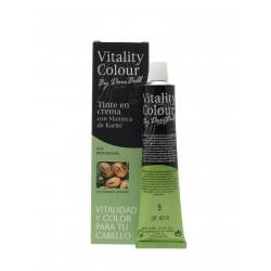 Tinte con crema con manteca de karite, vitalidad y color para tu cabello.
