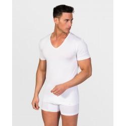 Camiseta interior de algodón thermica
