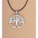 Gargantilla Árbol de la Vida con Circonitas