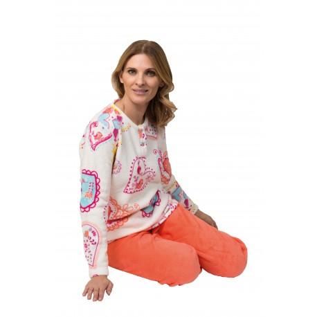 pijama-mujer-coralina-oasis-venta-directa