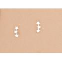 Pendientes Estrella Trepadores Plata Ley