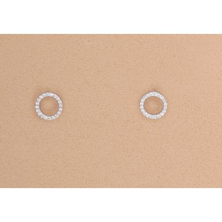 pendientes-círculo-circonitas-plata-ley