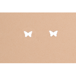 Pendientes Mariposa Plata Ley