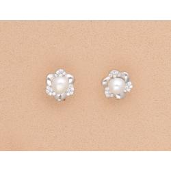pendientes-flor-circonitas-perla-plata-oasis-venta-directa