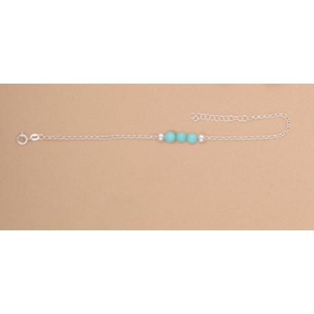 pulsera-plata-ley-bola-turquesa-oasis-venta-directa