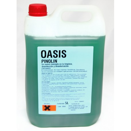 Oasis venta directa Pinolin limpieza