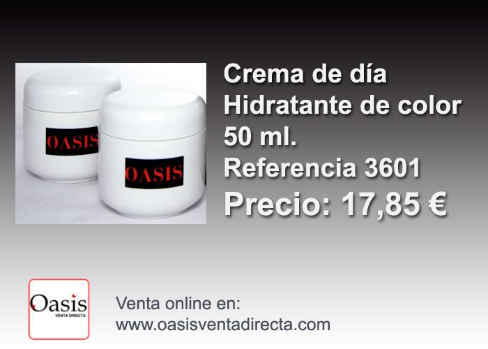 crema hidratante Oasis Venta directa